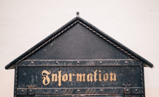Top of old European information box
